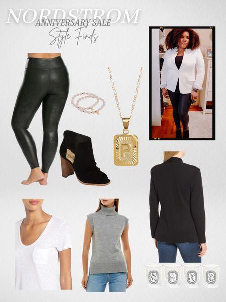 Nordstrom Anniversary Sale Style Finds Plus size Faux Leather Spanx Sweaters Fall outfits  Booties  #LTKsalealert   #LTKunder100 #LTKstyletip #liketkit @liketoknow.it http://liketk.it/3jJqU