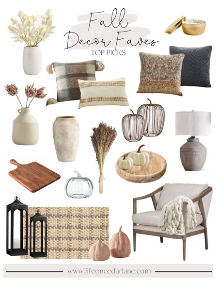 Fall Decor Faves - refresh your home with our top picks from Pottery Barn. So many neutral and fun pieces to choose from! Loving these pillows!!   #LTKstyletip #LTKSeasonal #LTKhome