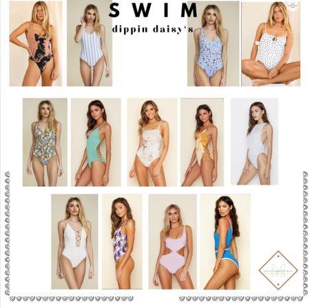 One piece swimsuits, perfect for a beach vacation   #LTKswim #LTKsalealert #LTKunder100