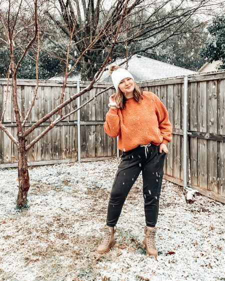 Cozy winter outfits. Boots at DSW are 30% of right now. Screenshot this pic to get shoppable product details with the LIKEtoKNOW.it shopping app http://liketk.it/37Eyn @liketoknow.it #liketkit #LTKSeasonal #LTKsalealert #LTKstyletip