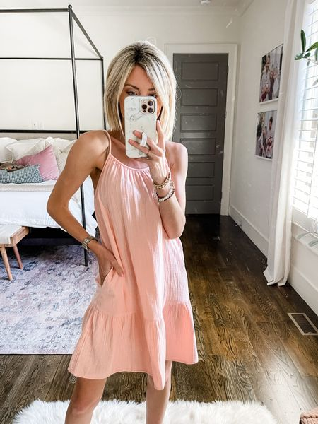 This dress is 20% off this weekend. Perfect for a casual summer look or to wear as a swim coverup!   #LTKstyletip #LTKunder50 #LTKsalealert