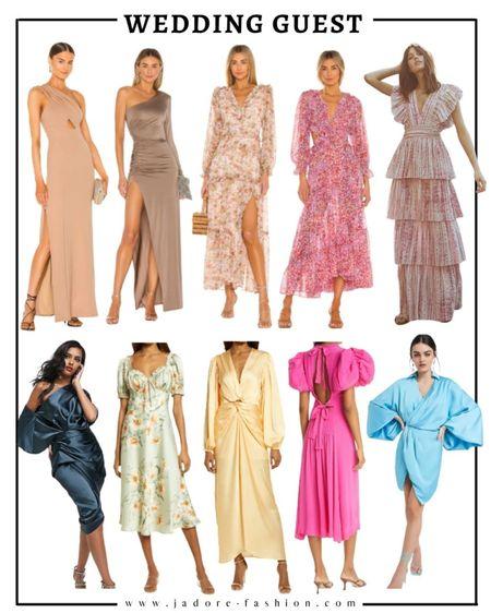 Wedding guest dresses   #LTKSeasonal #LTKunder100 #LTKwedding