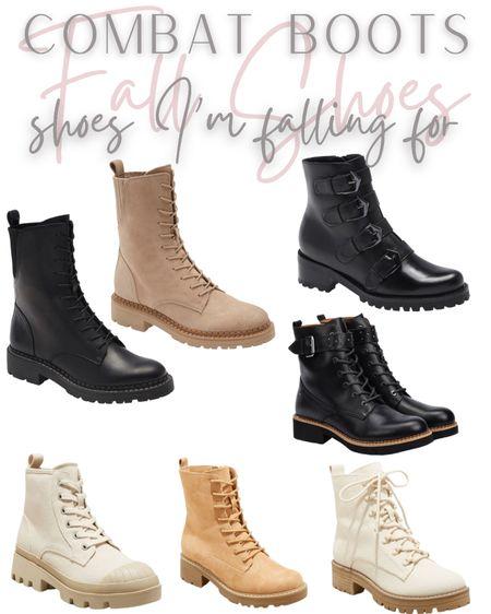 Combat boots  #LTKshoecrush #LTKunder100 #LTKsalealert