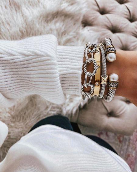 Designer dupe bracelets on sale!   #LTKstyletip #LTKsalealert #LTKunder100