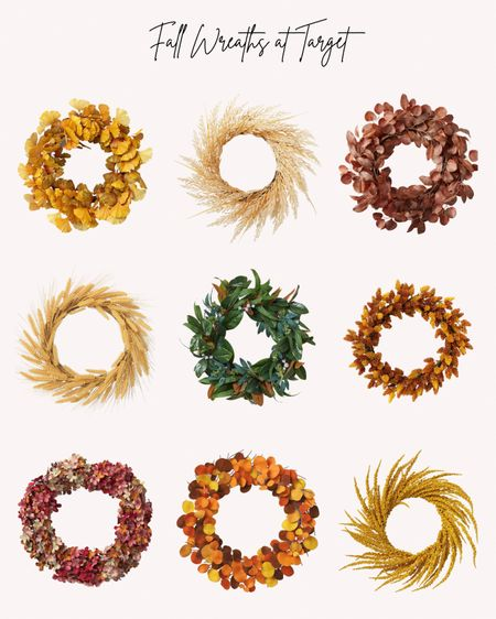 Fall, autumn, wreath, outdoor decor, Thanksgiving decor, Target   Follow me for more ideas and sales.   Double tap this post to save it for later    #LTKunder50 #LTKhome #LTKSeasonal