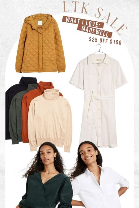 Grab $25 off your madewell order today! Great place for Fall basics this season   #LTKunder100