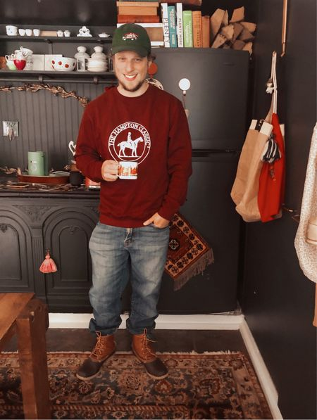 Matt looking ready for fall! 🍂🍁✨  #LTKshoecrush #LTKmens #LTKSeasonal