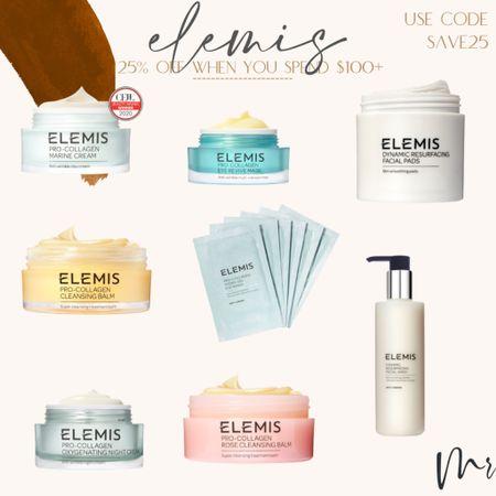 25% off my fav #elemis beauty products when you spend $100+. Use code SAVE25 #beautydeals #elemissale  #LTKbeauty #LTKsalealert #LTKunder100