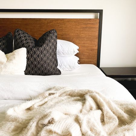 All the cozy vibes in our master. My bed goal is always to give that clean, peaceful hotel vibe. If you're looking for that fluffy cloud look, here's my secret... double stuff your duvet! Find some more tips and tricks in my reels!   Follow me on the LIKEtoKNOW.it shopping app to get the product details for this look and others @liketoknow.it.home #StayHomeWithLTK #LTKhome http://liketk.it/2WuZU #liketkit @liketoknow.it