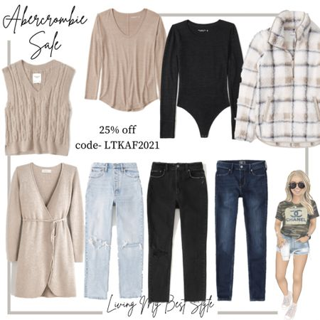 Fall finds on sale from Abercrombie! 25% off site wide with code LTKAF2021   #LTKSale