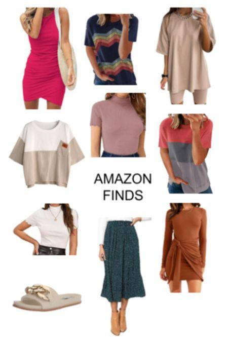 Amazon finds Shoes $70!  Dresses T-shirts Skirt  #LTKunder50