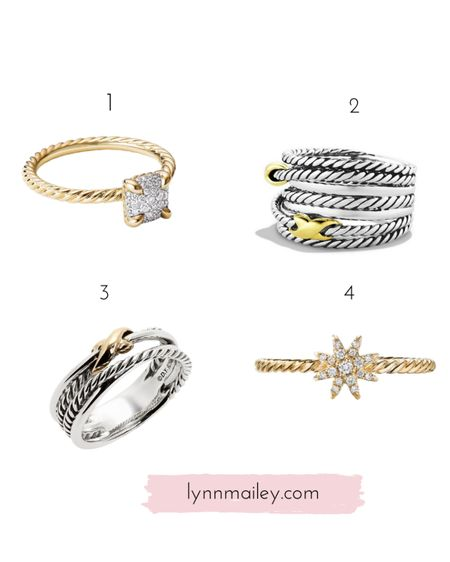 💍 which ring  do you like best? ❤️ You know if you were going to buy one?  Truth is I have a bunch of gift cards and I'm trying to decide what to get. I know…it's a good problem to have!    http://liketk.it/3hZ1r #liketkit @liketoknow.it  ❤️ Download the LIKEtoKNOW.it shopping app to shop this pic via screenshot or click on the link in my bio!   #davidyurman #njfashion #lynnmailey