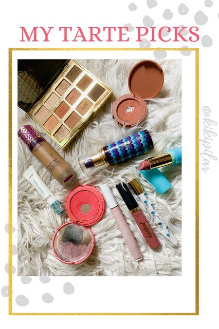 Shop my favorite tarte products! Exact shades linked below #LTKSale  #LTKbeauty #LTKsalealert #LTKunder50