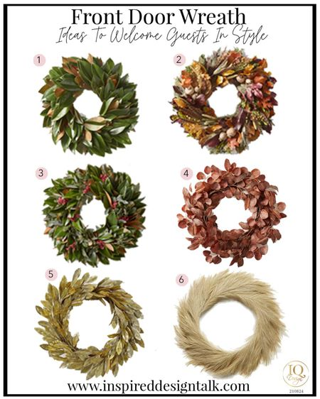 Update your front door with a trendy seasonal front door wreath.   Holiday decor, home decor, patio decor, Christmas decor, fall decor, back to school, herb wreath, moss Wreath, fall inspiration, holiday home decor   You can instantly shop my looks by following me on the LIKEtoKNOW.it shopping app   #LTKhome #LTKSeasonal #LTKstyletip
