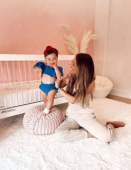 CAN YOU EVEN WITH THIS CUTENESS?! 😩Dylan wanted to show y'all the @owlet Smart Sock 3 Baby Monitor we use because it is currently $75 OFF for @Target's Baby Month Deals!! I have never seen a discount this big for this monitor and highly recommend it because the Smart Sock gives such peace of mind! It tracks heart rate and oxygen levels while your baby sleeps that you can view in the Owlet app on your phone and the monitor connects to the app as well! Super convenient and such a good deal 🙌🏼  Target Baby Month Deals areHERE with new deals arriving every single week including everything from diapers and wipes to baby furniture and gear! So be sure to check my story as I'll be sharing honest reviews of items we use that are part of the sale 👏🏼 Head there now for details on this sale and outfit + nursery links 💗  #TargetPartner #TargetBaby #DylanSkyeKeinan   #LTKsalealert #LTKkids #LTKbaby