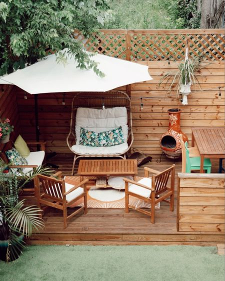Patio furniture, egg chair, outdoor decor, outdoor furniture http://liketk.it/3iPQv #liketkit @liketoknow.it #LTKhome #LTKunder100