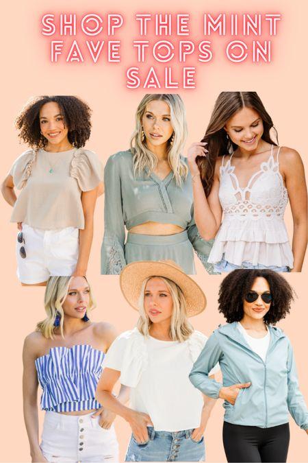 Shop the mint end of summer sale tops! #freepeopledupe #lightjacket   #LTKsalealert #LTKunder100 #LTKbacktoschool