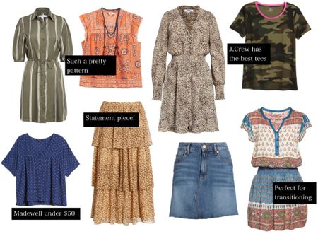Nordstrom Anniversary Sale!!! Dresses, tops, and skirts perfect for transitioning into Fall!   #LTKsalealert