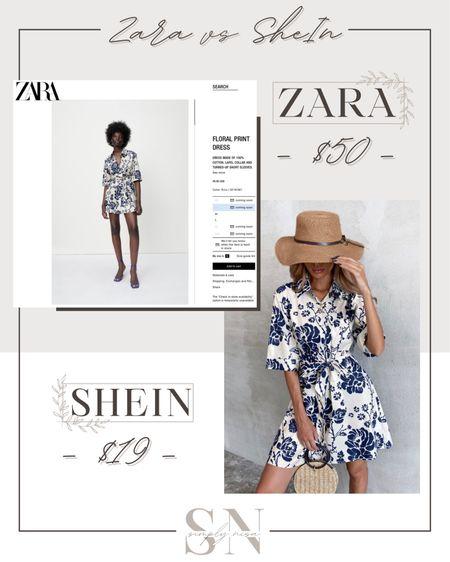 Zara vs Shein - love this affordable summer outfit! Such a cute summer dress! http://liketk.it/3ieSa   #liketkit @liketoknow.it   #LTKstyletip #LTKunder50 #LTKunder100 #LTKsalealert #LTKworkwear #LTKcurve #LTKbump #LTKfit #LTKshoecrush #LTKbeauty #LTKeurope #LTKbrasil #LTKtravel Shop my daily looks by following me on the LIKEtoKNOW.it shopping app