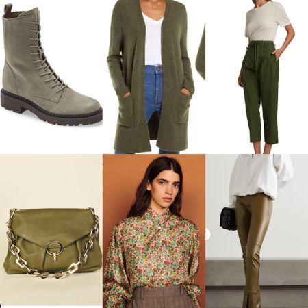 The perfect fall color?Army Green!   #LTKshoecrush #LTKstyletip #LTKSeasonal