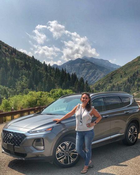 Feeling stylish driving around in the 2019 Hyundai Santa Fe. http://liketk.it/2x5tQ #liketkit @liketoknow.it
