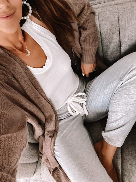 soma sale - cardigan and Sunday pants in size small, save on necklaces with code ANNA20 #anna_brstyle  #LTKSale