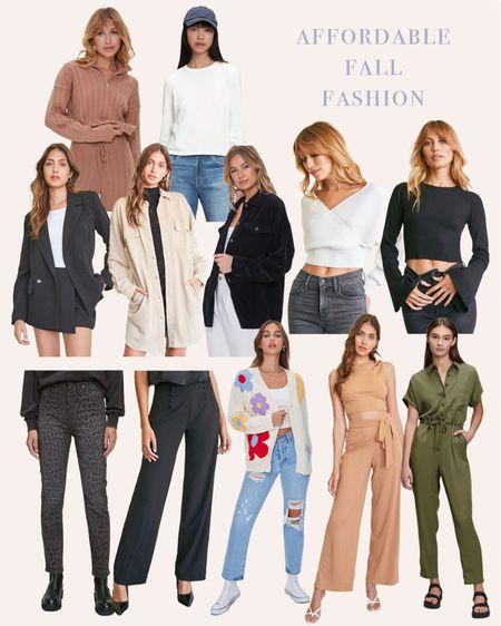 Affordable fall fashion #forever21 #gap  #LTKstyletip #LTKbacktoschool #LTKunder100