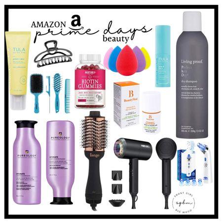 http://liketk.it/3i6AZ #liketkit @liketoknow.it #LTKsalealert #LTKbeauty #LTKunder100 Amazon prime days deals on beauty products; living proof, pureology, ionic hairdryers, volumizing brushes, Tula skin care, black head removers, mini fridge