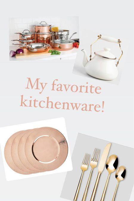 My favoritekitchenware! I love my Viking copper pots and pans. I think you will too!    http://liketk.it/39MkB #liketkit @liketoknow.it #LTKhome @liketoknow.it.home @liketoknow.it.family