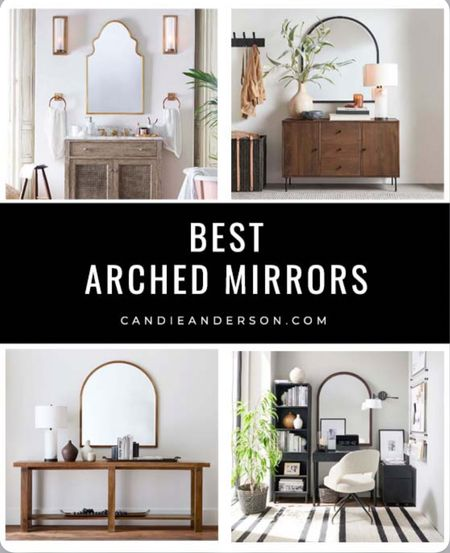 Best arched mirrors! Trendy arch mirror for bathroom, living room, bedroom, dining room, entryway and more!! ❤️   #LTKhome