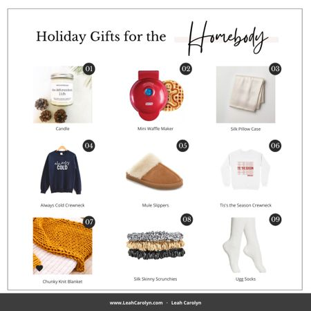 New post alert!! Today on the blog I'm sharing some holiday gifts for homebody in your life, which might be more people than not this year.  This list makes me want to curl up couch with hot cocoa and turn a Hallmark Christmas movie! What are you must haves laid back weekend (or weekday) at home?  #LTKunder100 #LTKgiftspo #StayHomeWithLTK