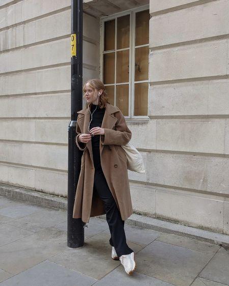 the perfect oversized coat and tote ✌🏻🤎   #LTKSeasonal #LTKeurope #LTKunder100