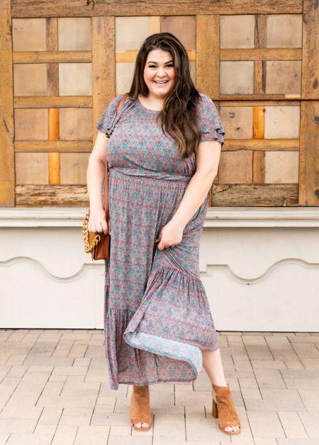 Plus size fall dress @walmartfashion #walmartfashion @walmart #walmart #ad   #LTKunder50 #LTKstyletip #LTKcurves