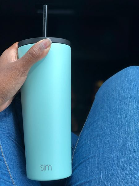 I got the Simple Modern 24oz Insulated Stainless Steel Classic Tumbler with Straw and Flip Lid Seaside from Target and I'm loving it! It keeps my water cool and my hot beverages hot. You can also switch out the lids!  #LTKhome #LTKtravel #LTKfamily