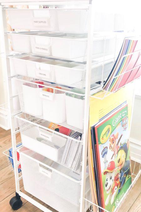 Art supplies organizer!  #LTKkids #LTKhome #LTKbacktoschool