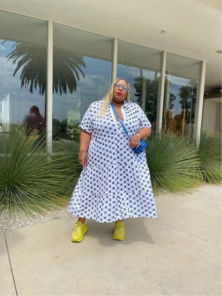 Perfect plus size eyelet dress!   #LTKtravel #LTKSeasonal #LTKcurves