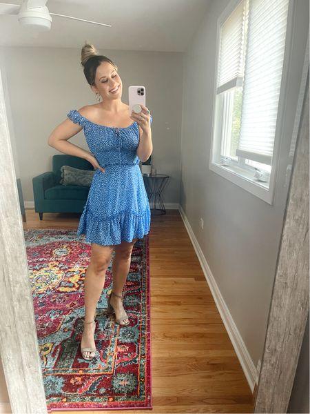 Amazon finds! This dress is a prime deal, it's a lightning deal and almost gone!!! It's the cutest summer dress   #LTKsalealert #LTKshoecrush #LTKunder50