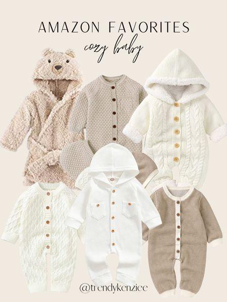 Amazon Baby Favorites / Cozy Baby / Amazon Find / Winter Baby / Fall Baby / Amazon Neutral / Neutral Baby     #LTKbump #LTKbaby