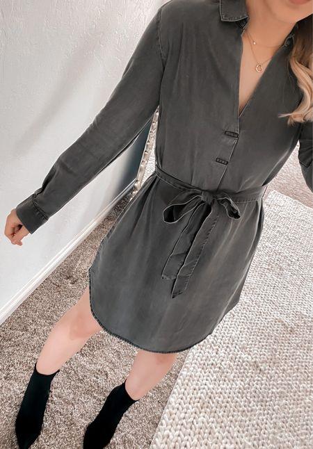 Amazon dress, grey dress   #LTKworkwear #LTKunder100 #LTKstyletip