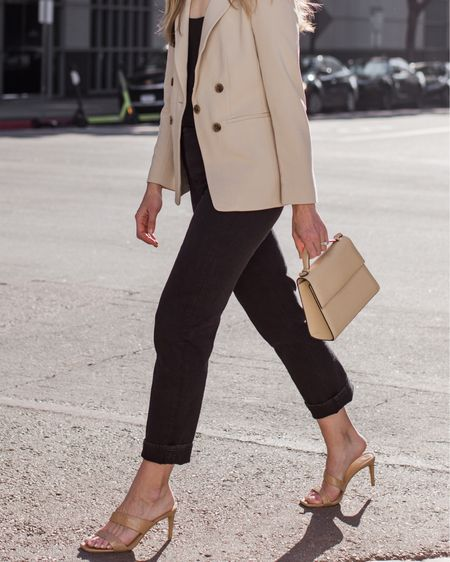 Casual date night or office look 🤍 Almost everything in this outfit is under $100 (minus the bag)! http://liketk.it/3d6Dp #liketkit @liketoknow.it #LTKunder100 #LTKstyletip #LTKshoecrush