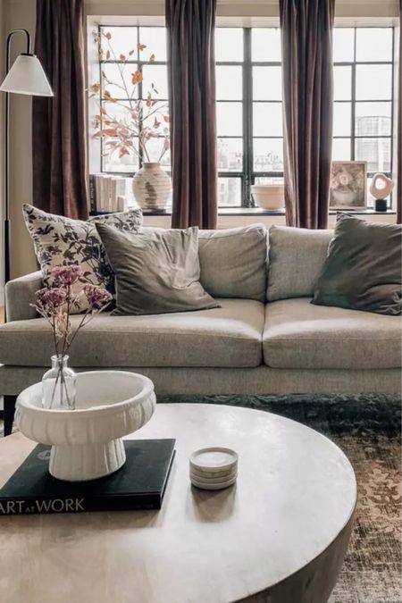 Fall living room decor & furniture🤎