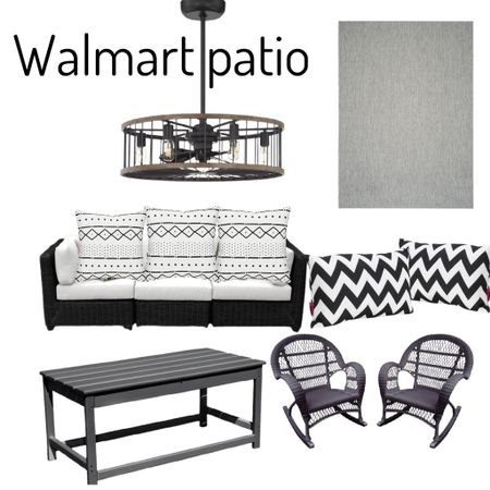 Summer is here great outdoor patio furniture  Walmart//Summer//  #ad  #LTKstyletip #LTKfamily #LTKhome