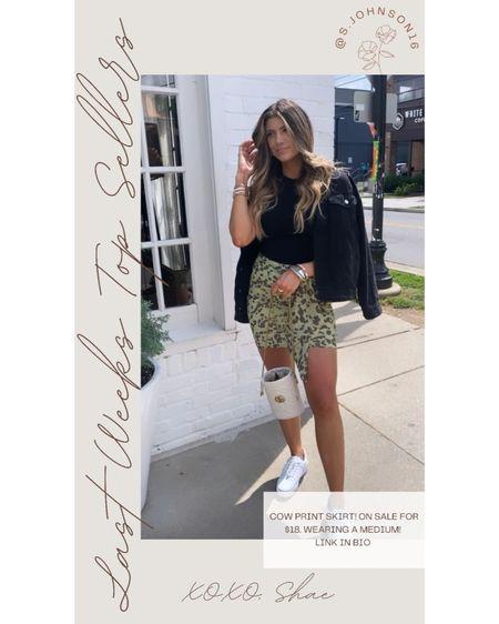 Top seller: cowprint skirt only $18 Wearing a medium  http://liketk.it/3hB7I #liketkit @liketoknow.it #LTKsalealert #LTKstyletip #LTKunder50
