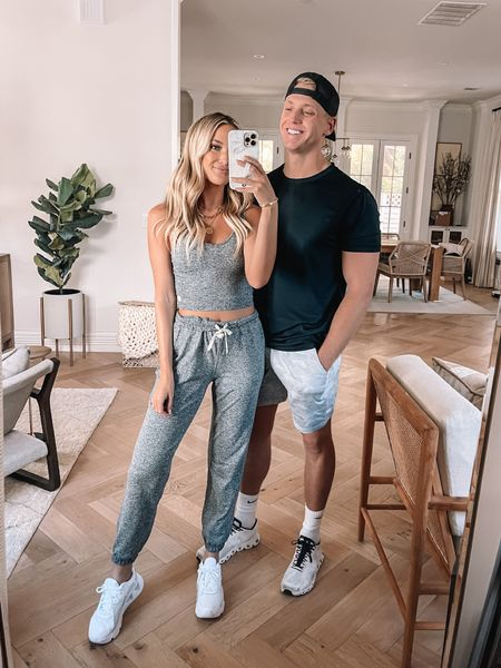 His & Her athleisure looks 🖤