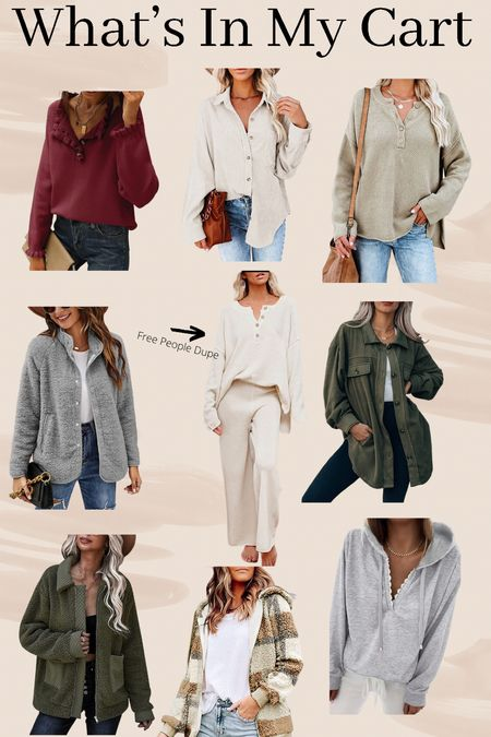 Fall Sweaters and Outfits  #LTKunder50 #LTKstyletip #LTKGiftGuide