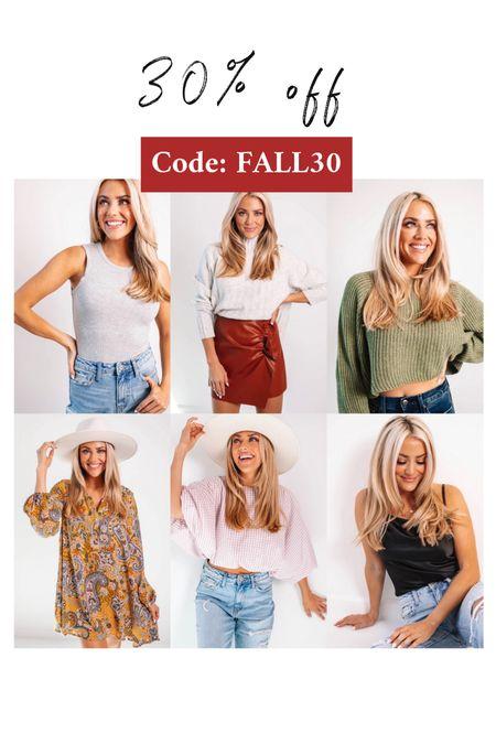 30% off fall looks  Impeccable Pig  15% off always: JANELLE15   #LTKunder50 #LTKunder100 #LTKstyletip