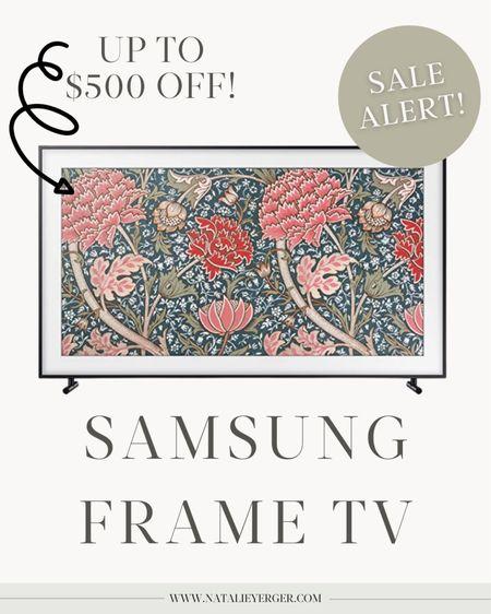 samsung frame tv black friday