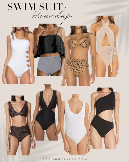 Swimsuit roundup, swimsuit favorites, swimsuit fashion, beach vacation, summer fashion, StylinbyAylin   #LTKswim #LTKSeasonal #LTKtravel