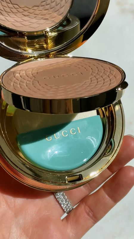 Testing out the Gucci Poudre De Beauté Éclat Soleil Bronzing Powder 💖 I had to treat myself because it's available for a discount for a limited time at the Sephora Spring Savings Event. All Rouges, VIBs, and Insiders can use code OMGSPRING to redeem online. If you are not a Beauty Insider, it's 100% worth it to join in order to get access to the Spring Savings Event because there are so many holy grails at a discount! Filling up my cart with more goodies today ✨ #guccimakeup #ad   #LTKunder100 #LTKbeauty