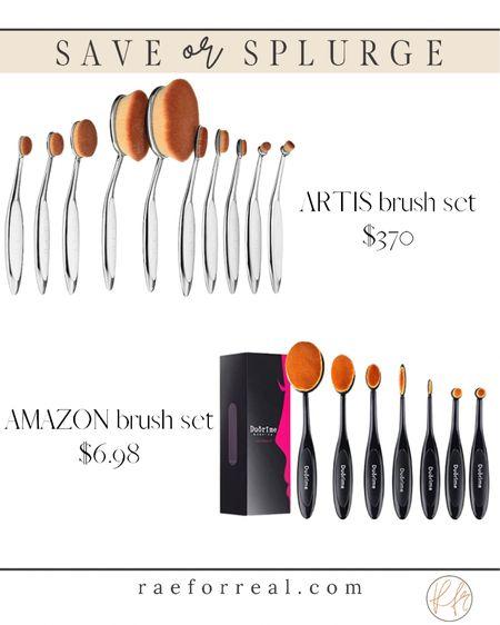 Makeup brushes save or splurge!!!    #LTKGiftGuide #LTKbeauty #LTKunder50